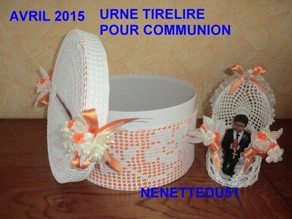 URNE TIRELIRE COMMUNION