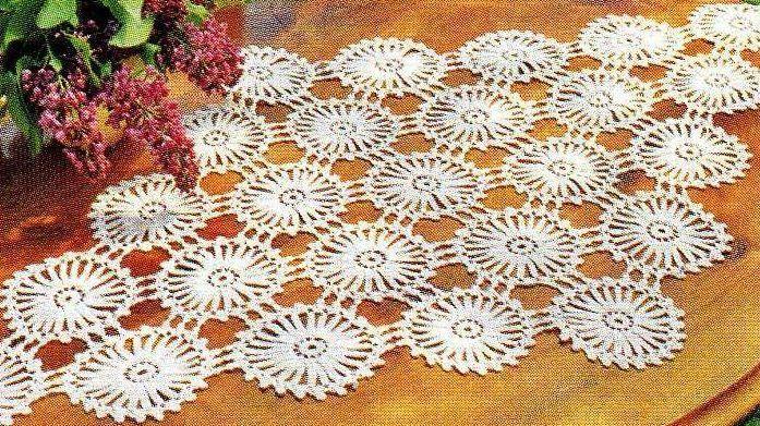 Napperons Au Crochet Imagui