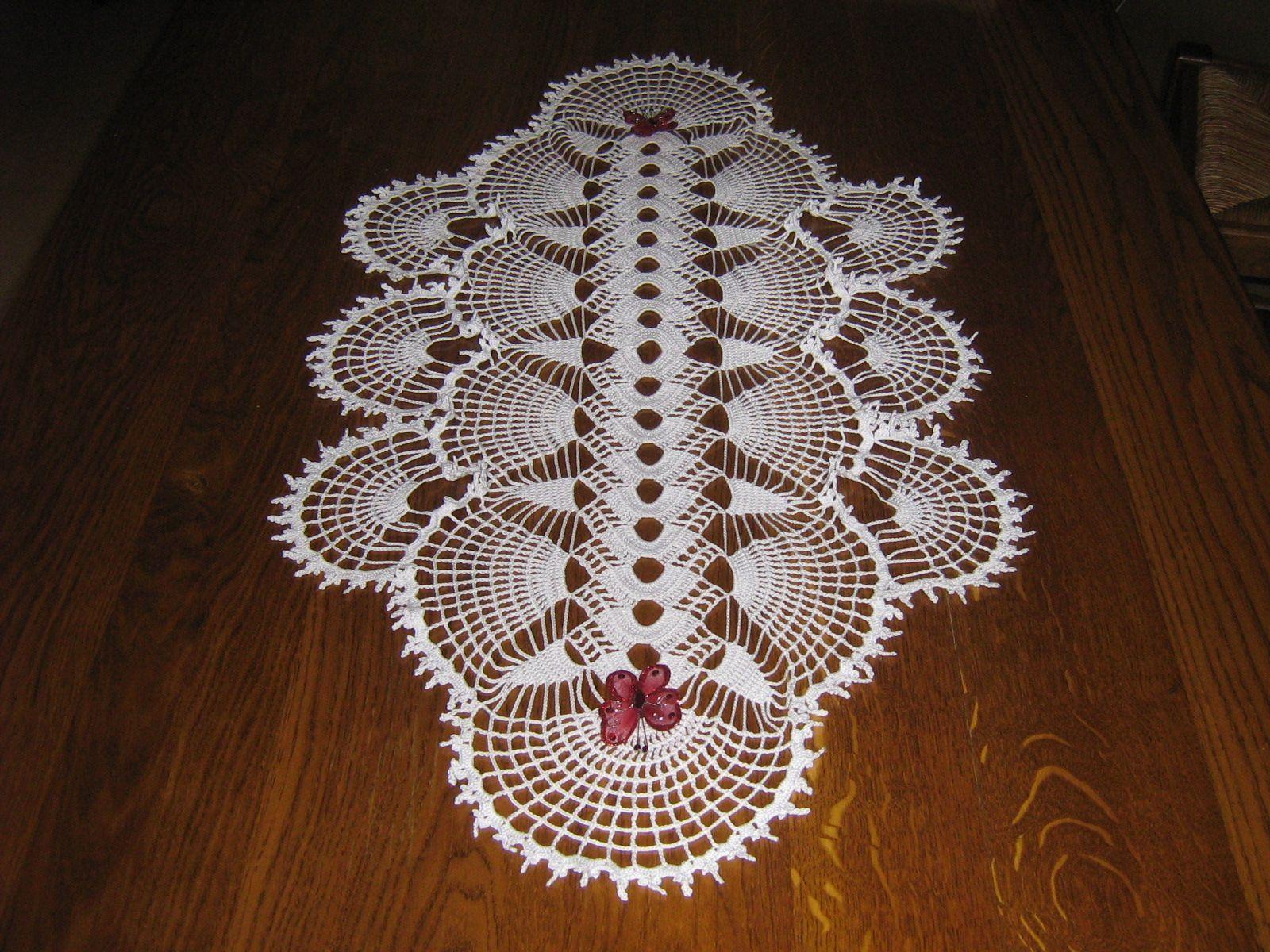 Napperon crochet gratuit - Napperon crochet grille gratuite ...